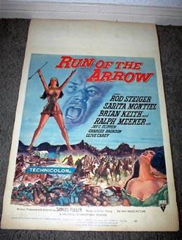 Run of the Arrow (1957) Dvd RunarrowWCreduced